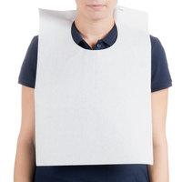 Royal Paper ATB24-PW Disposable Paper Bib - 500/Case