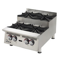 Star 808HA-SU Ultra Max 8 Burner Step Up Countertop Range / Hot Plate 240,000 BTU - 48 inch