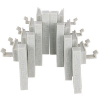Cambro Camshelving Premium CPCC8480 Connector Corner - 8/Pack