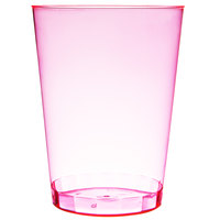 Fineline Savvi Serve 410-RD 10 oz. Tall Neon Red Hard Plastic Tumbler 20 / Pack