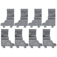 Cambro Camshelving Elements ECC8580 Connector Corner - 8/Pack