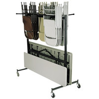 National Public Seating 42-8-60 Folding Chair / Table / Coat Storage and Transport Dolly