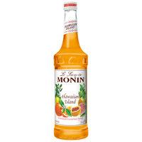 Monin 750 mL Hawaiian Island Flavoring / Fruit Syrup