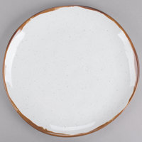 GET CS-10-RM Rustic Mill 10 1/2 inch Irregular Round Coupe Plate - 12/Case