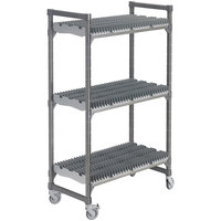 Cambro Camshelving Elements EMU246078DRPKG580 Drying Rack Cart - 24 inch x 60 inch x 78 inch