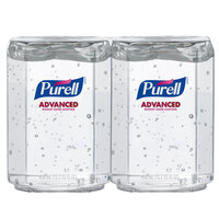 Purell® 1450-08-FS ES Everywhere System Advanced Two-Pack 450 mL Gel Instant Hand Sanitizer - 8/Case