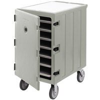 Cambro 1826LTC3180 Camcart Light Gray Mobile Cart for 18 inch x 26 inch Sheet Pans and Trays