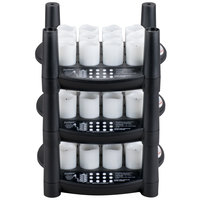 Sterno Products 60236 36 Piece Warm White Rechargeable Flameless Votive Set with 3 EasyStack Charging Bases and 1 Power Adapter