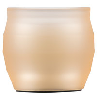Sterno Products 60198 Origin 3 1/2 inch Tan Flameless Wax Filled Glass Lamp - 4/Case