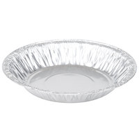 D&W Fine Pack 11600 6 inch x 2 inch Shallow Foil Pie Pan - 100/Pack