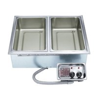 APW Wyott HFW-5 Insulated Five Pan Drop In Hot Food Well