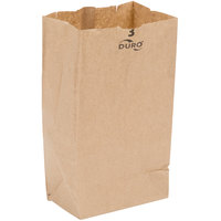 Duro 3 lb. Brown Paper Bag - 500/Bundle