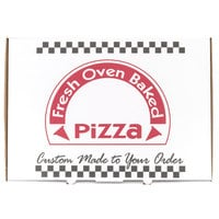 17 inch x 25 inch White Corrugated Pizza Box