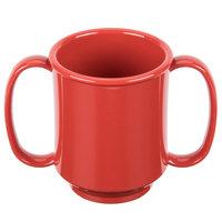 GET SN-103-RSP 8 oz. Red Sensation Tritan Two Handle Mug - 24/Case