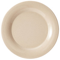 GET BAM-1007 BambooMel 7 1/2 inch Wide Rim Plate - 48/Case
