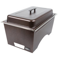 Sterno Products Full Size Copper Vein Stackable Chafer with Lid