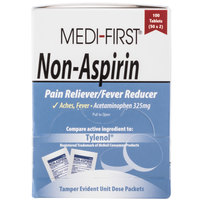 Medi-First 80333 Non-Aspirin Acetaminophen Tablets - 100 / Box