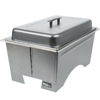 Sterno Products Full Size Silver Vein Knock Down Chafer with Lid