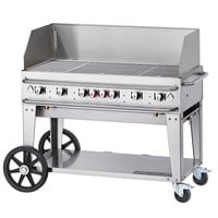 Crown Verity RCB-48WGP-LP 48 inch Pro Series Outdoor Rental Grill with Wind Guard Package