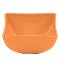 GET SZSB002O BambooServe 12 oz. Square Bamboo Orange Bowl - 24/Case