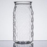 American Metalcraft DMC20 20 oz. Clear Plastic Diamond Drink Can