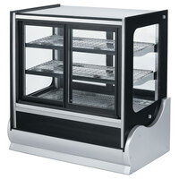 Vollrath 40890 36 inch Cubed Heated Display Cabinet with Front Access