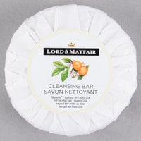 Lord & Mayfair 1.5 oz. Pleat Wrapped Apples & Wicker Cleansing Soap Bar - 288/Case