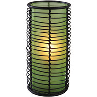 Sterno Products 80352 Brandy 6 inch Green Frost Lamp