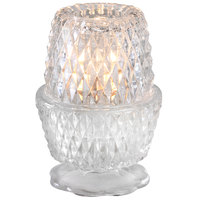 Sterno Products 80376 Crawford 5 1/4 inch Clear Lamp