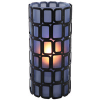 Sterno Products 80324 Ayer 6 inch Blue Frost Lamp