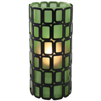 Sterno Products 80328 Ayer 6 inch Green Frost Lamp