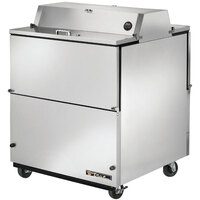 True TMC-34-S-DS 34 inch Stainless Steel Two Sided Milk Cooler