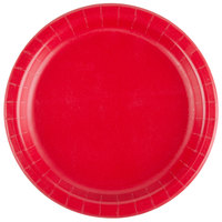 Creative Converting 791031B 7 inch Classic Red Paper Plate - 24/Pack