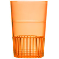 Fineline Quenchers 4115-ORG 1.5 oz. Neon Orange Hard Plastic Shooter Glass 500 / Case