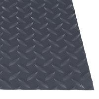 Cactus Mat 1054R-E375 Cushion Diamond-Dekplate 3' x 75' Gray Anti-Fatigue Mat Roll - 9/16 inch Thick