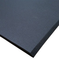Cactus Mat 2200R-C4 Cloud-Runner 4' x 75' Black Grease-Proof Rubber Runner Mat Roll - 3/4 inch Thick
