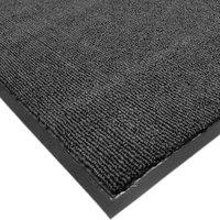 Cactus Mat 1471M-L34 3' x 4' Charcoal Olefin Carpet Entrance Floor Mat - 3/8 inch Thick