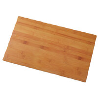 American Metalcraft MPLB 20 7/8 inch x 12 1/2 inch Bamboo Melamine Serving Board