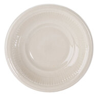 Embossed Rim American White (Ivory / Eggshell) 4.5 oz. China Fruit / Monkey Dish - 36 / Case