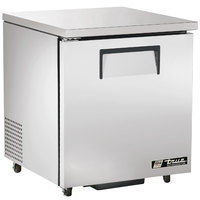 True TUC-27F-HC-ADA LH 27 inch ADA Height Undercounter Freezer with Left-Hinged Door