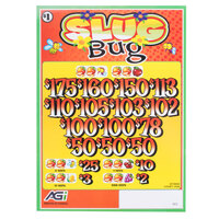 Slug Bug 3 Window Pull Tab Tickets - 2436 Tickets per Deal - Total Payout: $1935