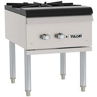 Vulcan VSP100-2 Liquid Propane Stock Pot Range - 110,000 BTU