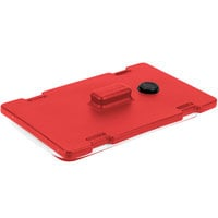 Cambro 6322158 Hot Red Camtainer Lid with Vent and Gasket