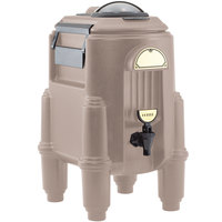 Cambro CSR3417 Camserver 3 Gallon Dark Taupe Insulated Beverage Dispenser