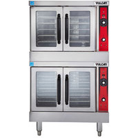 Vulcan VC33ED-240/3 Double Deck Full Size Electric Convection Oven - 240V, 25 kW