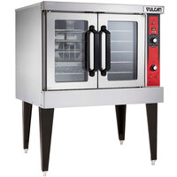 Vulcan VC4ED-12D1 Single Deck Full Size Electric Convection Oven - 240V, 3 Phase, 12.5 kW