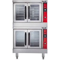 Vulcan VC44ED-208/3 Double Deck Full Size Electric Convection Oven - 208V, 25 kW