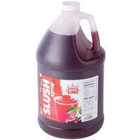 Carnival King 1 Gallon Cherry Slushy Syrup - 4/Case