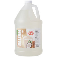 Carnival King 1 Gallon Coconut Slushy Syrup - 4/Case