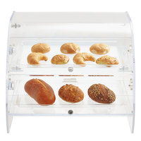 Vollrath XLBC2F-1826-13 Extra Large Acrylic 2 Tray Bakery Case with Front Doors